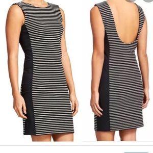 Athleta Black Stripe Dress